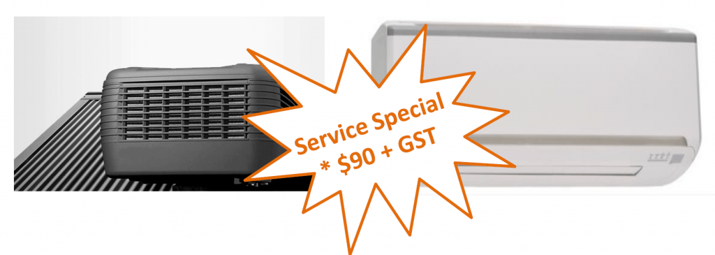 This is an excellent opportunity to arrange for your air conditioners service.